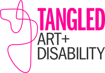 Tangled Art and Disability Logo