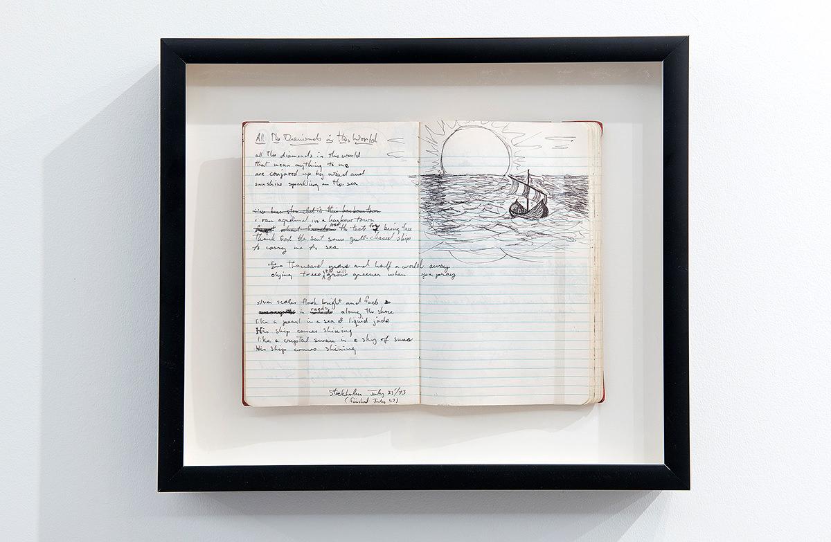 Blacklights, Paroles manuscrites de Koriass