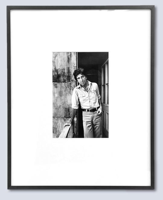 Leonard Cohen, poète, Montréal, 1973.