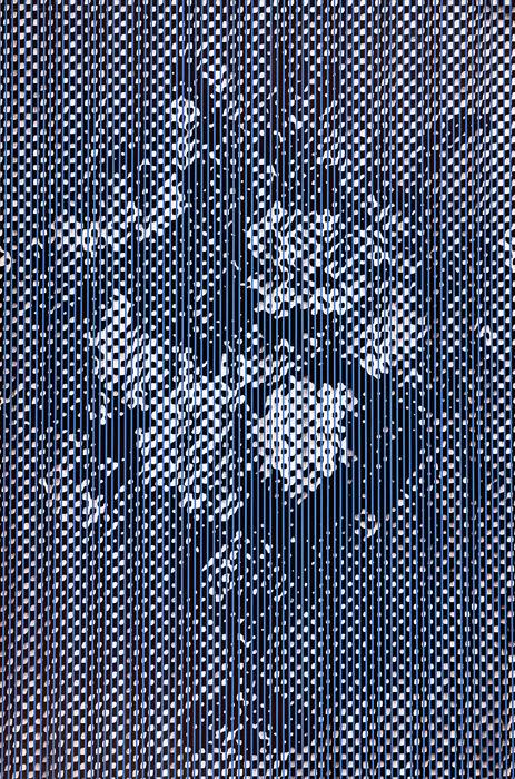 Chris Cran, Large Purple Still Life (1991). Huile et acrylique sur toile.