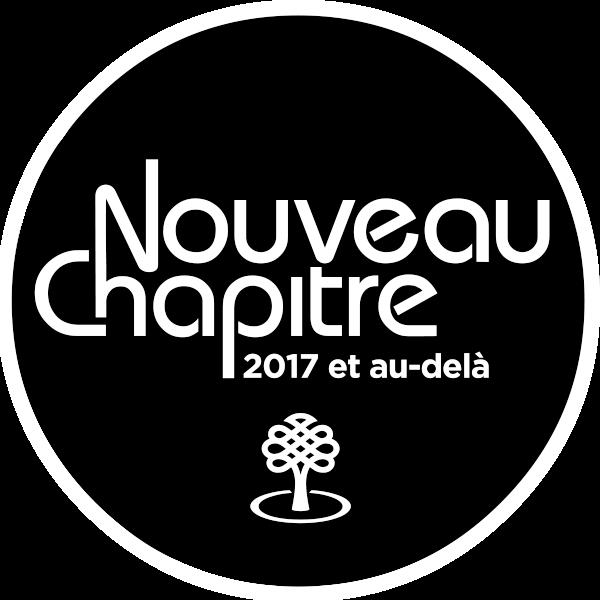 Logo pour Nouveau chapitre 2017 et au-delà